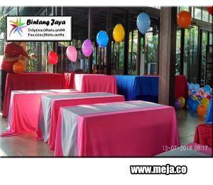 Rental Meja Kotak Pesta di Bekasi