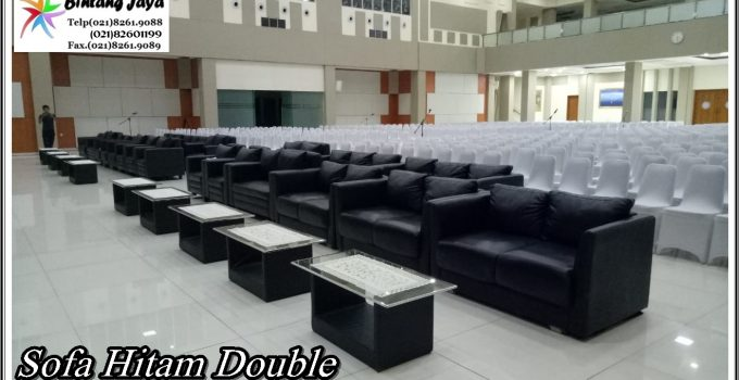 Sewa Sofa Double Hitam