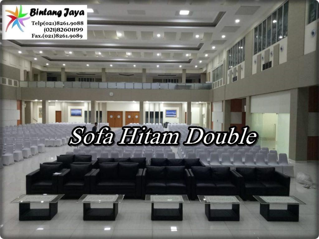 Sewa Sofa Double Hitam